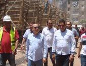 محافظ كفر الشيخ :الانتهاء من رصف طرق العاصمة قبل 30 يونيو المقبل