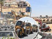 إزالة تعديات على 2 مليون متر و81 ألف فدان بحملة استرداد أراضى الدولة