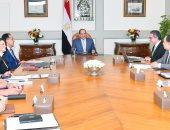 السيسى يبحث مع رئيس الحكومة وعدد من الوزراء الموقف التنفيذى للمتحف المصرى الكبير.. ويوجه بالالتزام بالتوقيتات والجداول الزمنية للمشروع وإبراز عظمة وتفرد وعراقة الحضارة المصرية القديمة
