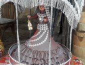 """المصرى يكسب.. عروسة مصرية محجبة بتغنى """"وحوى يا وحوى"""" صناعة يدوية"""