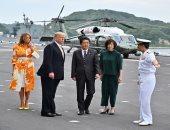 ترامب ينفى طلبه إبعاد سفينة تحمل اسم جون ماكين خلال زيارته لليابان