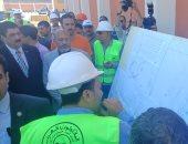 محافظ القليوبية يتفقد أضخم محطة لمياه الشرب بالخانكة قبل افتتاحها يونيو المقبل