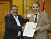 تعيين الدكتور أحمد زكى عميدًا لتجارة جامعة قناة السويس
