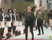 """للمرة الأولى.. عرض أزياء فى الجيش الروسى بحضور وزير الدفاع """"فيديو"""""""