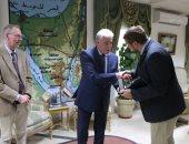 صور .. وفد إسبانى يلتقى محافظ جنوب سيناء للتنسيق لزيارة الوفود السياحية