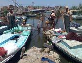 صور .. إزالة تعديات وضبط مخالفات ببحيرة البرلس خلال حملة أمنية