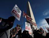 اضراب عمالى ليوم واحد ضد سياسات حكومة الأرجنتين بسبب اجراءات التقشف