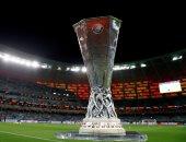 شاهد.. كأس الدوري الأوروبي تصل ملعب باكو