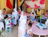 صور.. سجينات النساء يستقبلن أطفالهن لتناول الإفطار معهن فى القناطر