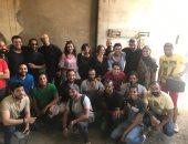 """ياسر جلال ينتهي من تصوير مسلسل """"لمس أكتاف"""" في الأزهر"""