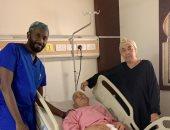 إنقاذ حياه معتمر عربى بمستشفى الملك عبدالعزيز بمكه المكرمة