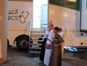 «صحة مكة» تلفت أنظار المعتمرين إلى العيادات المتنقلة بجبل الكعبة