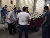 3 حملات للتحفظ وإيقاف أعمال البناء المخالف وسط الإسكندرية
