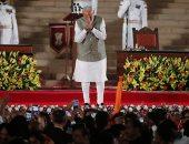 صور.. ناريندرا مودى يؤدى اليمين الدستورية كرئيس للوزراء فى الهند لولاية ثانية