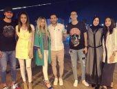 قصة صور.. ليالى رمضان تجمع عائلات نجوم الكرة