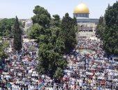 25 ألف فلسطينى يؤدون الجمعة فى الأقصى رغم إجراءات الاحتلال المشددة
