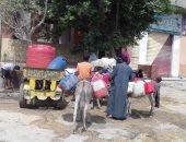 """""""20 ساعة يوميا"""".. شكوى من انقطاع المياه فى كفر طهرمس بمحافظة الجيزة"""