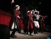 شاهد .. لوحات استعراضية فلسطينية على مسرح ساقية الصاوى