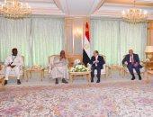 """السيسى يؤكد اعتزاز مصر بالعلاقات الأخوية المتميزة مع """"جامبيا"""" سياسيا ودينيا"""