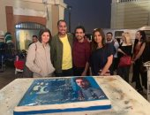 "صور.. داليا مصطفى تنتهى من تصوير  ""قمر هادى"" مع هانى سلامة"