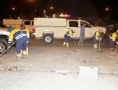 تنظيف شوارع كركوك بعد سلسلة التفجيرات