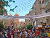 """""""لمة رمضان"""".. أهالى مدينة قليوب ينظمون إفطار جماعى"""