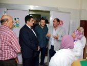 محافظ القليوبية يقود جولة مفاجئة على مستشفى الحميات ببنها