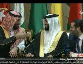 شاهد.. حديث باسم بين رئيس وزراء لبنان وولى عهد السعودية قبل القمة الإسلامية