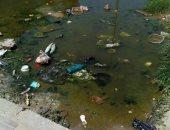 أهالى مشروع ابنى بيتك بأكتوبر يشكون غرق الشوارع بمياه الصرف الصحى