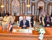 السيسى: أمن الخليج العربى يمثل لمصر أحد الركائز الأساسية للأمن القومى
