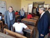 نائب وزير التعليم يوجه بسد العجز فى المعلمين بالمدارس الفنية بالجيزة