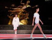 كيندال جينر وكايا جربر بعرض أزياء Alexander Wang.. ودافيدسون مفاجأة العرض