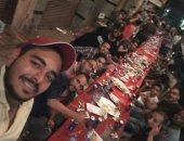 """لمة العيلة.. حفل إفطار جماعى لأهالى القومية العربية بإمبابة """" صور """""""