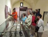 شاهد .. إقبال الوفود السياحية على متحف رشيد القومى (فيديو)