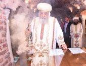 لماذا اختار البابا تواضروس زيارة كنيسة أبو سرجة يوم عيد دخول المسيح مصر؟