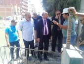 نائب السويس يعلن حل أزمة انقطاع المياه وزيادة عمليات التطهير بالمحافظة