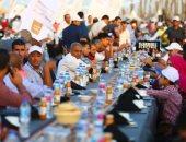 سرعنا الفيديو 5مرات.. اليوم السابع يرصد أطول مائدة إفطار بالعالم فى 114 ثانية