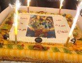 """فيديو.. صلاح عبد الله يحتفل بالانتهاء من تصوير """"هوجان"""""""