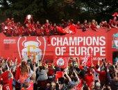 ليفربول يحتفل بدوري أبطال أوروبا فى حضور 500 ألف شخص.. فيديو وصور
