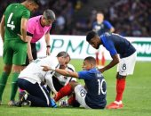 إصابة فى الكاحل لمبابي خلال مباراة فرنسا وبوليفيا