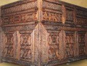 """شاهد الفن الإسلامى.. """"تركيبة من الخشب"""" لـ ضريح الإمام الحسين"""