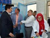 محافظ القليوبية يجرى جولة مفاجئة لمستشفى رمد بنها