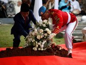 تشييع جنازة السيدة الأولى السابقة لإندونيسيا