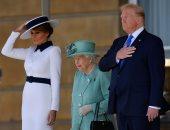 الملكة إليزابيث لترامب القيم المشتركة توحد بين بريطانيا وأمريكا