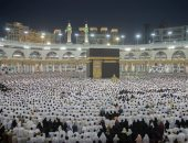 أكثر من 2 ونصف مليون مصل أدوا ليلة ختام القرآن الكريم فى المسجد الحرام