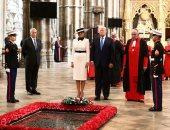 صور.. ترامب يزور كاتدرائية وستمنستر التاريخية