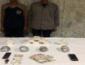 أمن الإسكندرية يضبط متهمين بحوزتهما 3 كيلو جرامات هيروين وأفيون