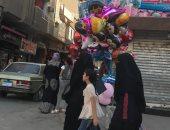 صور.. انتعاش الأسواق فى شمال سيناء.. والأهالى: نجد كل ما نحتاجه