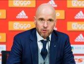 تقارير: تين هاج يقرر الرحيل عن أياكس الهولندي نهاية الموسم
