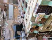 غرق شارع مسجد الوفاء بفيصل بمياه الصرف منذ أسبوعين